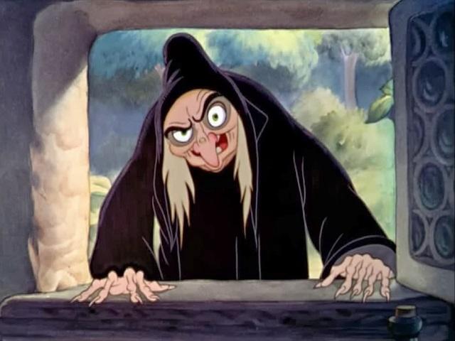 foto strega di Biancaneve