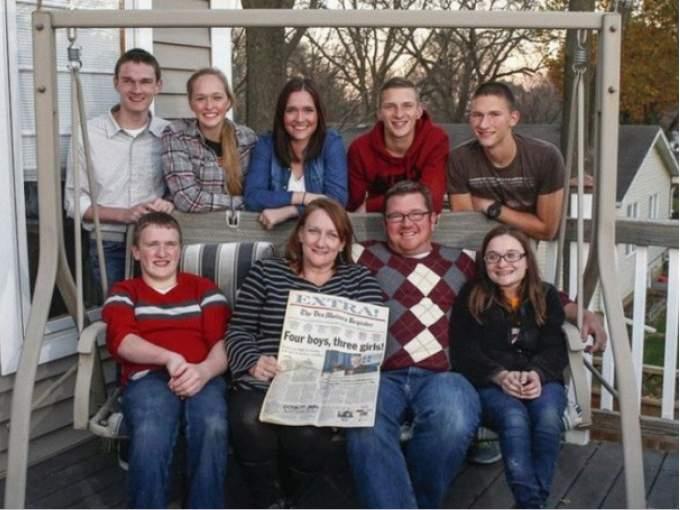 famiglia mccaughey gemelli