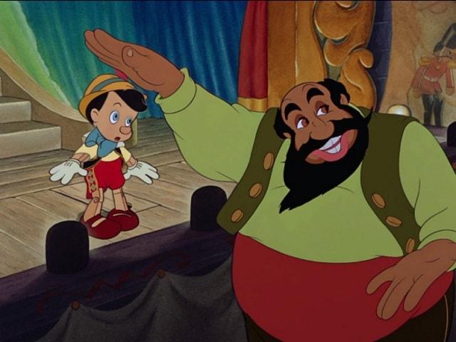 foto Pinocchio e Mangiafuoco