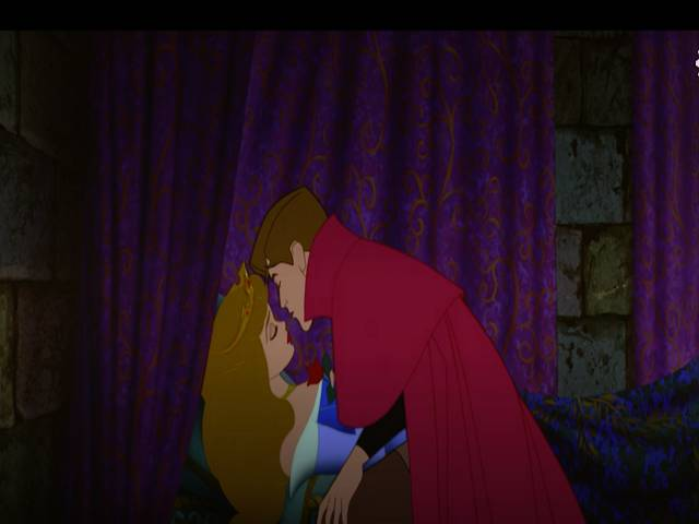 rosaspina bacio principe