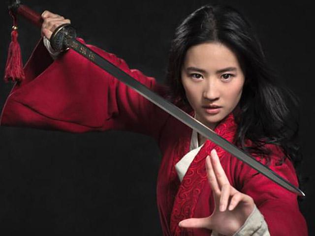 Foto Liu Yifei protagonista Mulan live action