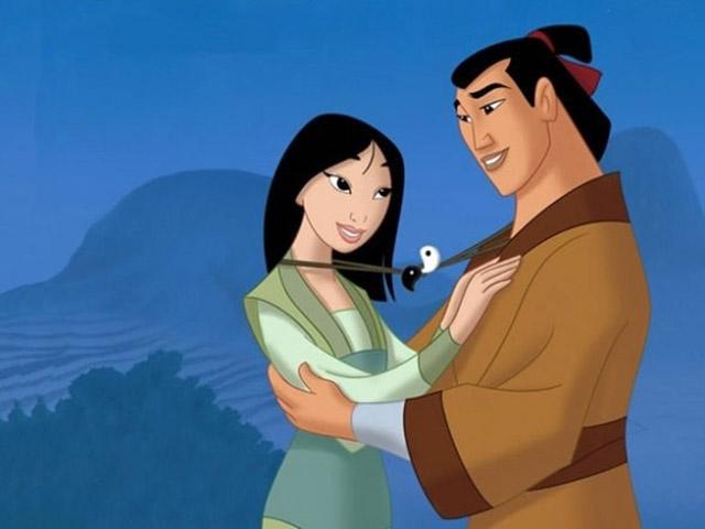 Foto Mulan e Li Shang
