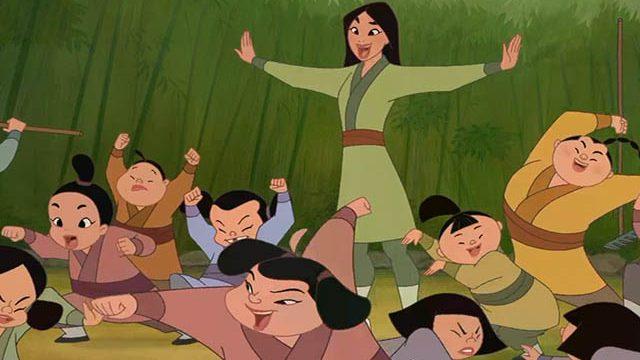 Foto Mulan lezione a bambini
