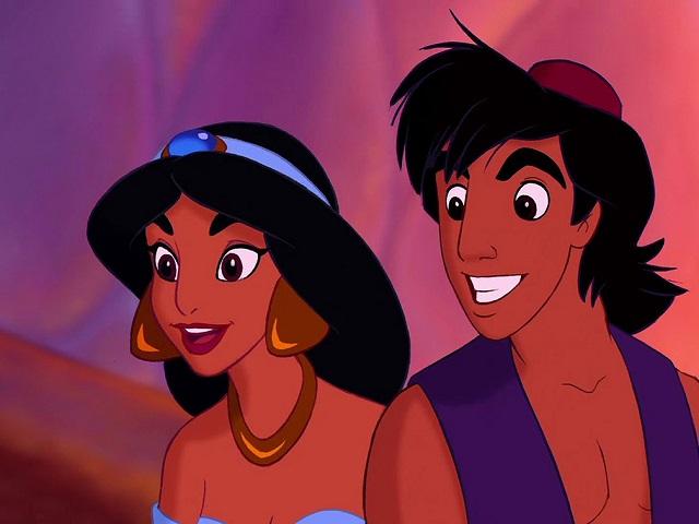 foto Aladdin e Jasmine