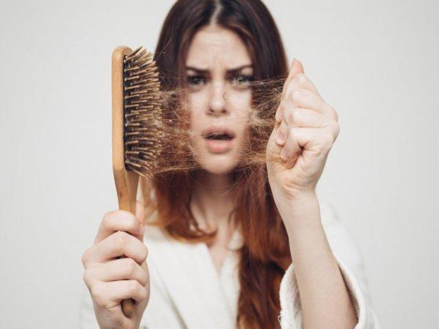 Foto caduta capelli