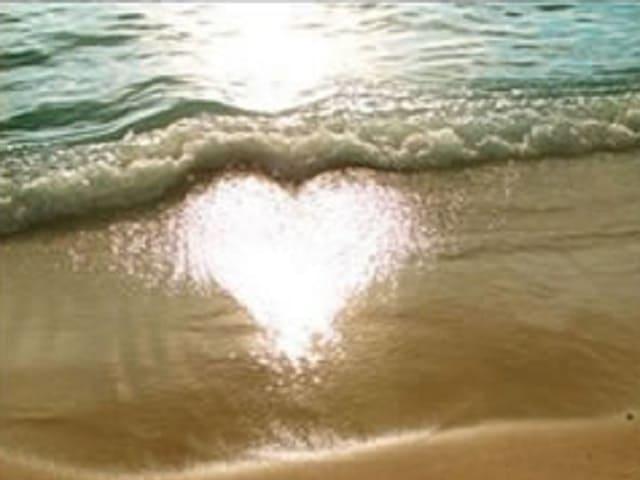 foto immagine tenera amore spiaggia