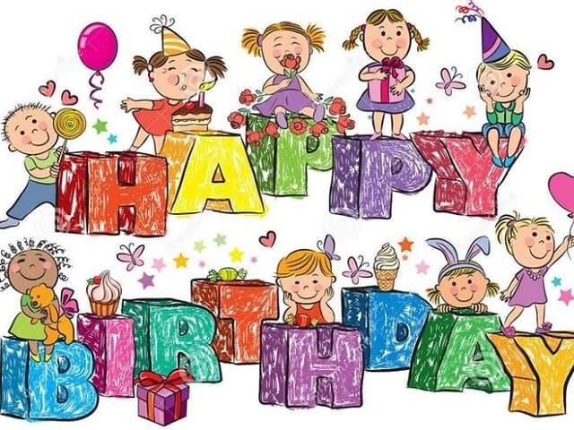 foto buon compleanno bambini 6