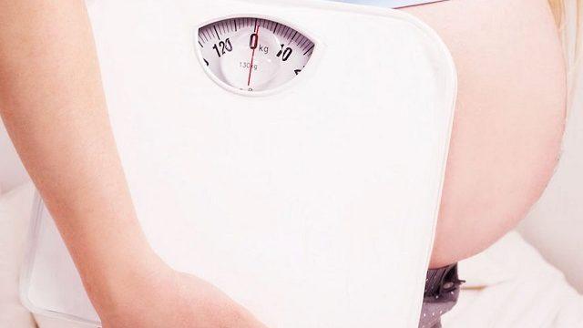 foto peso in gravidanza