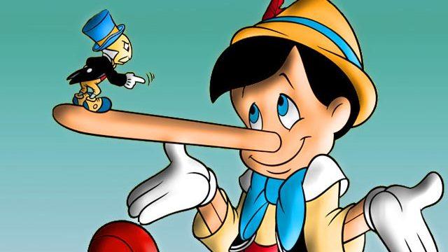 foto Pinocchio naso