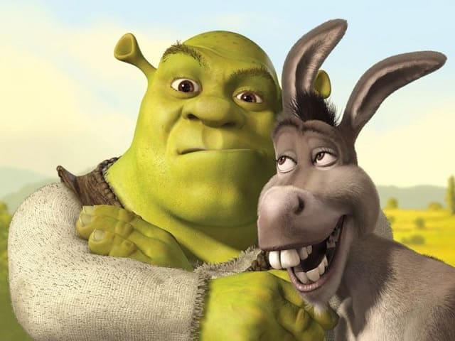 foto Shrek e Ciuchino