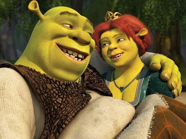 foto Shrek e Fiona
