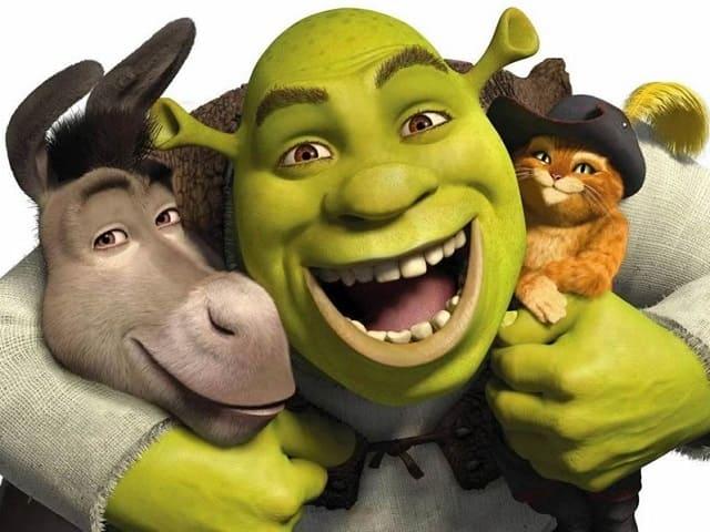 foto Shrek e Gatto