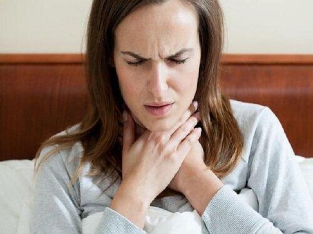 Foto mal di gola gravidanza