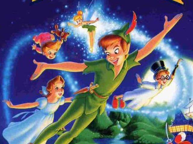 foto Peter Pan volo