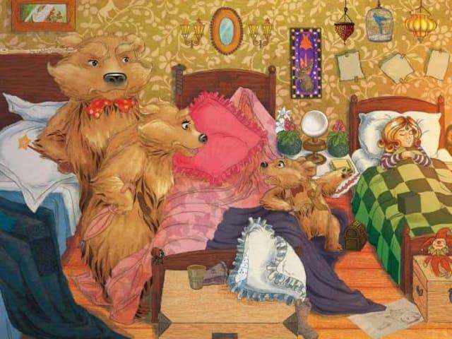 foto Riccioli d'oro con gli orsi