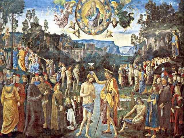 Foto battesimo Gesu