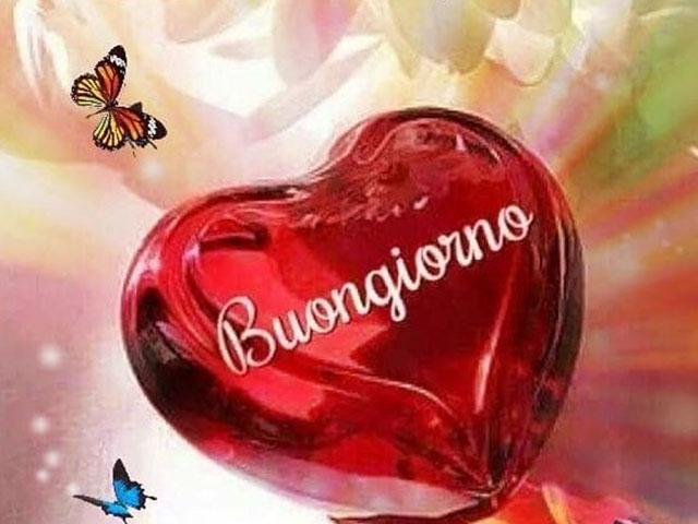 Foto immagini buongiorno con il cuore 7