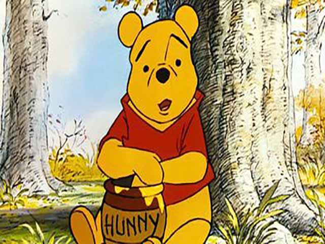 Foto winnie the pooh miele