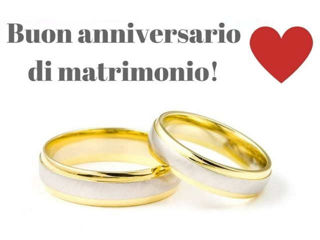 buon anniversario matrimonio