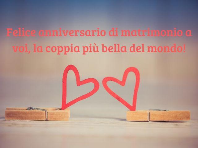 felice anniversario di matrimonio