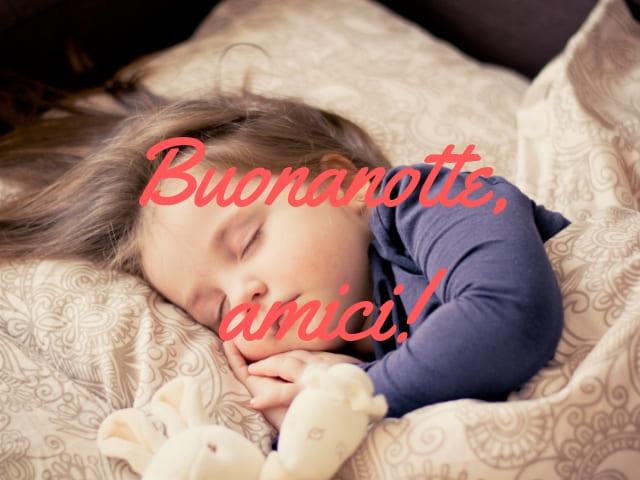 foto immagini belle notte bambina