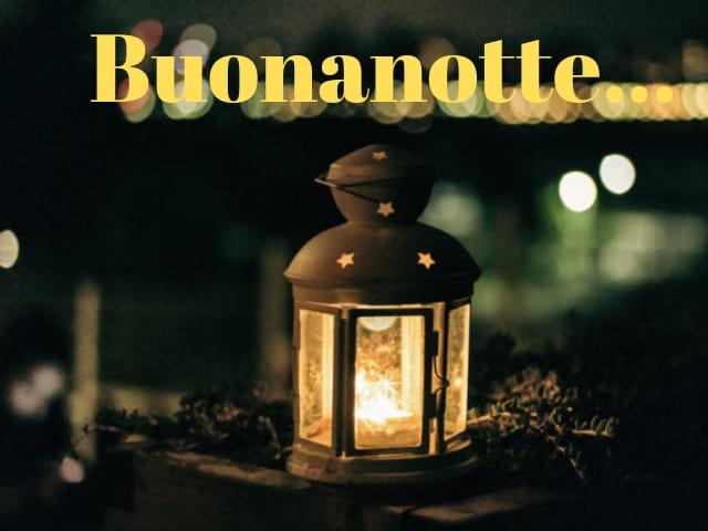 foto immagini buonanotte lanterna