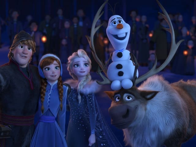 foto personaggi frozen Disney