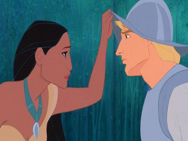 Foto Pocahontas e John