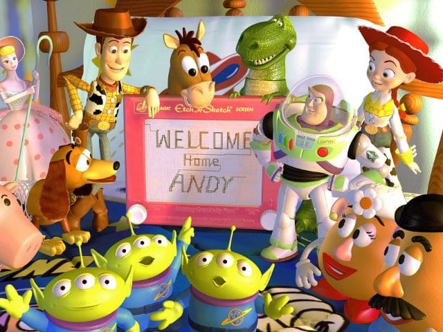 foto toy story Andy