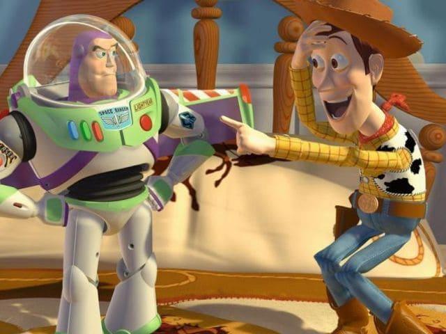 foto toy story woody buzz
