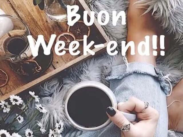 Foto buon weekend