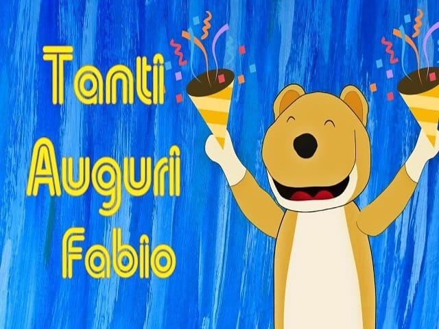 Buon onomastico Fabio