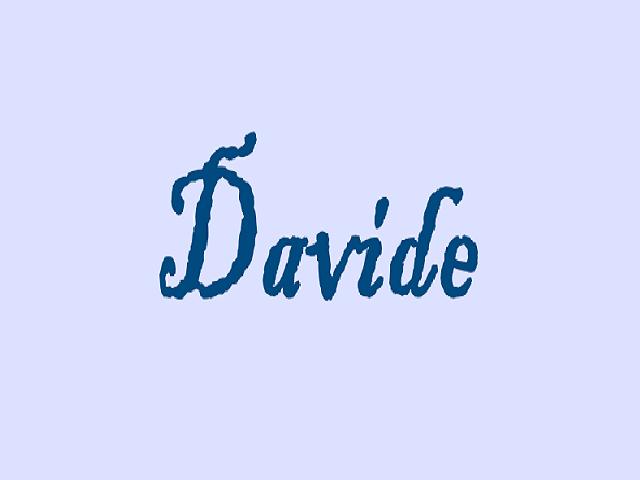 Curiosità e diffusione del nome Davide
