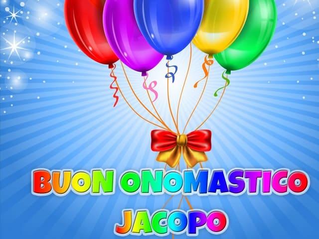 Foto onomastico Jacopo