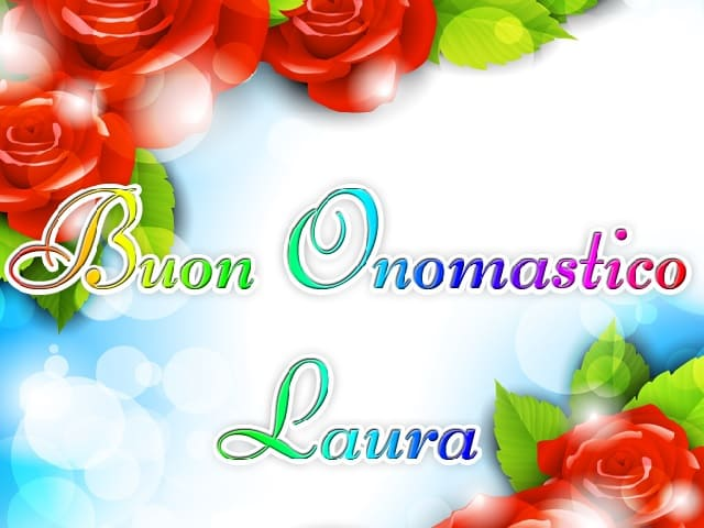 Immagini onomastico Laura