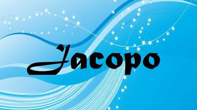 Onomastico nome Jacopo