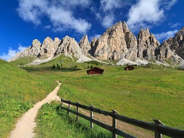 vacanze in montagna con bambini paesaggio