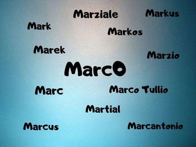 etimologia marco