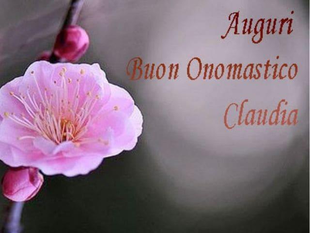 foto onomastico claudia fiori