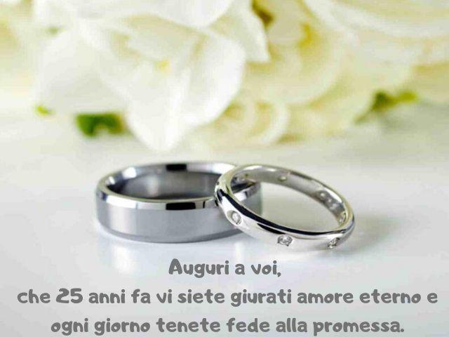 nozze d'argento