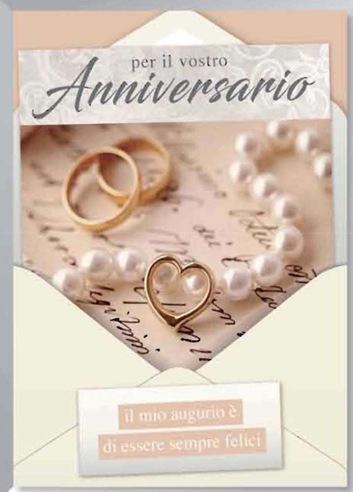 biglietti auguri anniversario matrimonio