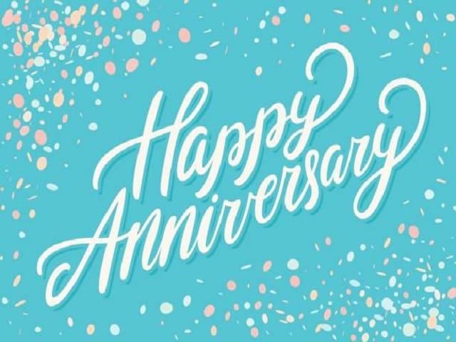 buon anniversario in inglese