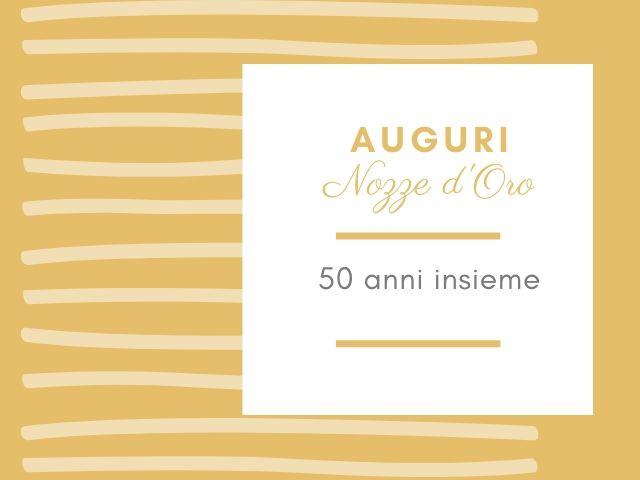 Nozze D Oro Le Piu Belle Frasi Per I 50 Anni Di Matrimonio