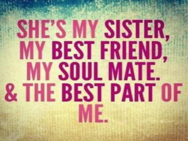 ti voglio bene sorellina