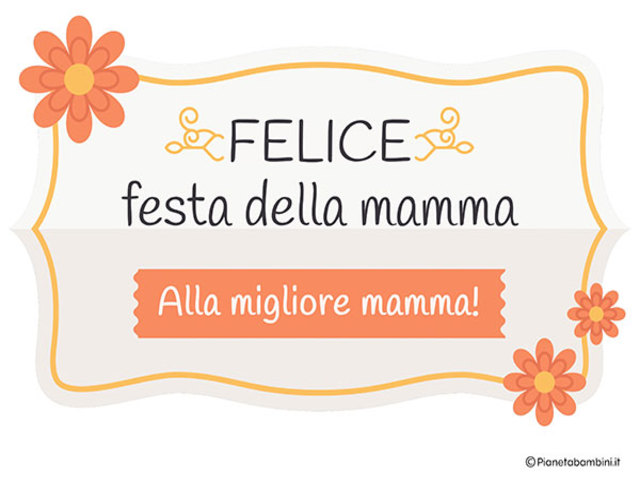 frasi festa della mamma