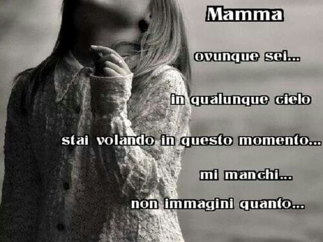 frasi per la mamma morta