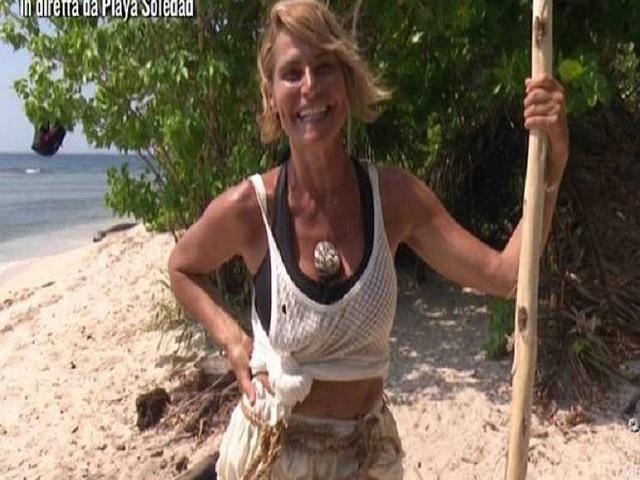 Simona Ventura Isola dei famosi