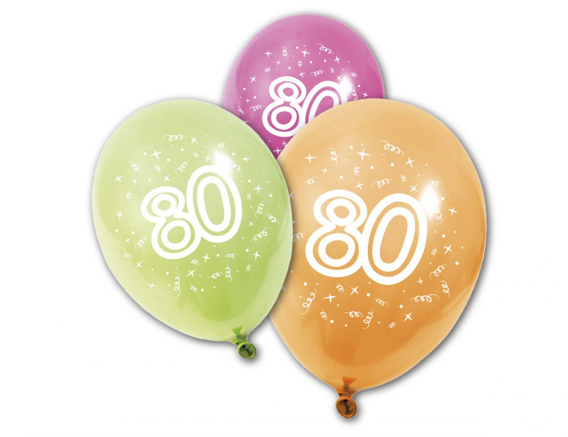 compleanni 80 anni