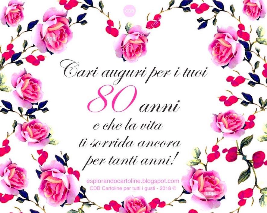 Frasi Auguri Compleanno Mamma 80 Anni