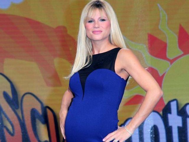 michelle hunziker incinta